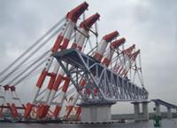 東京港臨海大橋(仮称)上部工架設