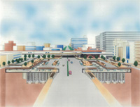 地下駐輪場計画 -葛西駅地下駐輪場を例に-